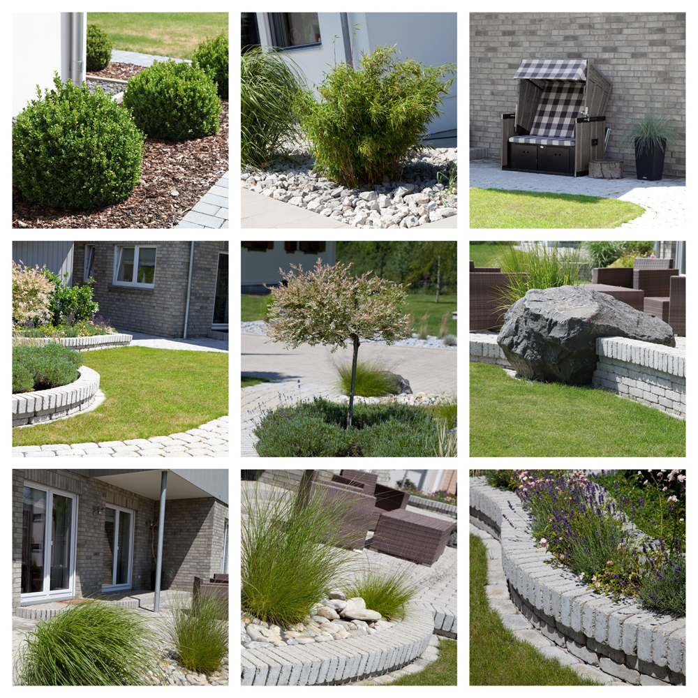 Terrassenbau pflastern von hof einfahrt und parkplatz for Garten pflastern