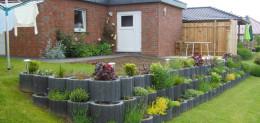 Gartengestaltung Terrasse nachher 1