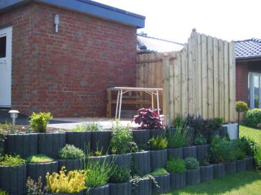 Gartengestaltung Terrasse nachher 2