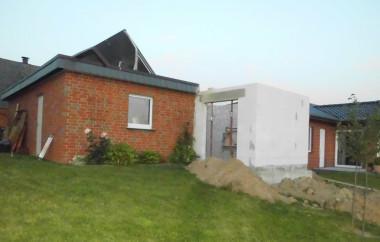 Gartengestaltung Terrasse vorher 2